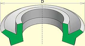 манж рез уплотн для пневмат устр тип 1