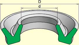 манж уплтн рез для гидравл устр (поз 3)