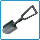 4 лопата саперная складная