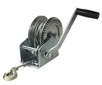 лебедка механическая с канатом