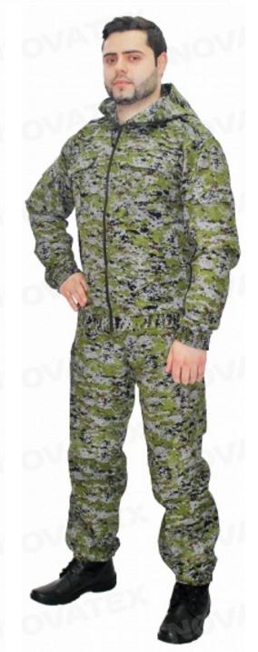 костюм спецназ зеленая цифра