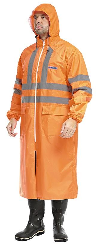 плащ влагозащ экстра визион оранж2