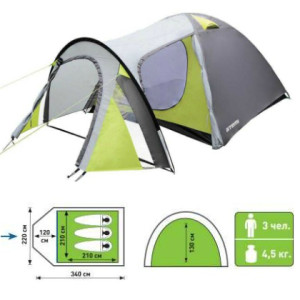 палатка атеми тайга со схемой