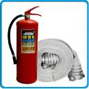 огнетушитель и рукав пожарный ава