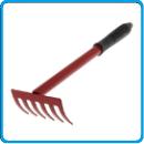 грабли 6 зубьев металлическая ручка ава
