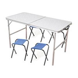 стол со стульями кедр