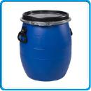 1 бочка пластиковая синяя 48 л