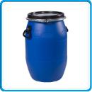 2 бочка пластиковая синяя 65 л