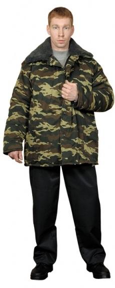 куртка ватная кмф