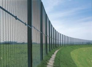 забор из сетки с пвх покрытием