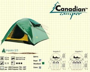 канадиан кампер импала 3