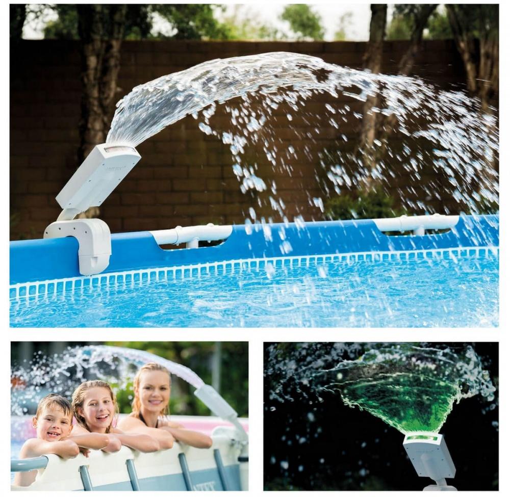 фонтан разбрызгиватель воды