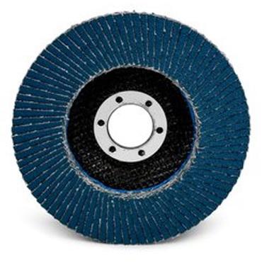 круг синий лепестковый