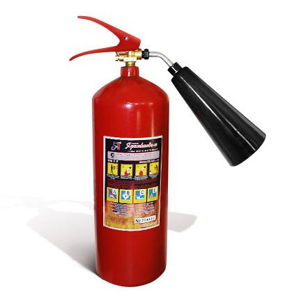 в каких случаях применяются огнетушители оу