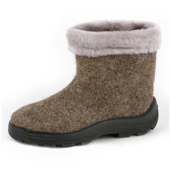 валяная обувь Северянка мех1